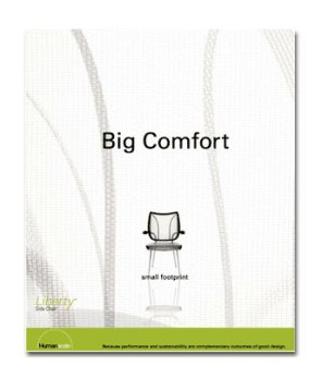 HumanScale - Big comfort small footprint